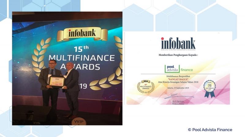 """PT Pool Advista Finance Tbk. Berhasil Memperoleh Predikat """"Sangat Bagus"""" Atas Kinerja Sepanjang Tahun 2018"""